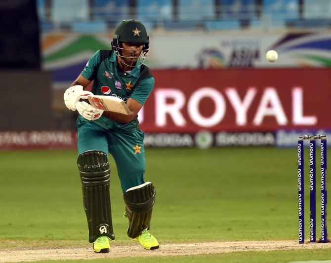 Aamir Sohail angry Fakhar Zaman forced to stop being aggressive during Asia Cup Pakistan cricket