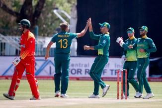 Willem Mulder miss rest ODI series Zimbabwe ankle injury South Africa cricket