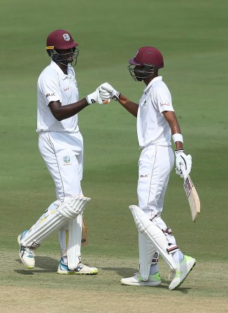 Roston Chase 98 not out India West Indies 2nd Test Day 1 Hyderabad cricket