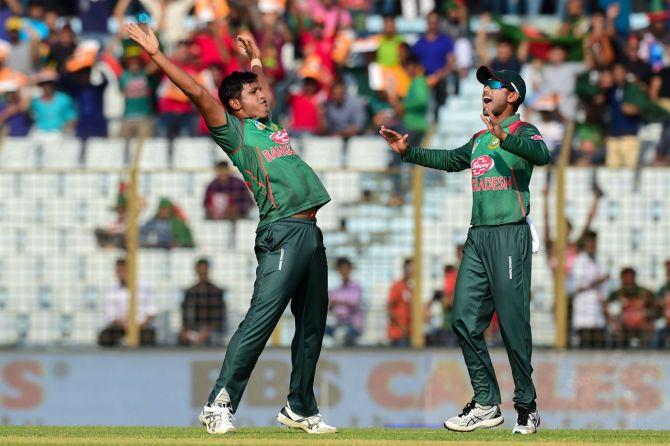 Mohammad Saifuddin three wickets Bangladesh Zimbabwe 2nd ODI Chittagong cricket