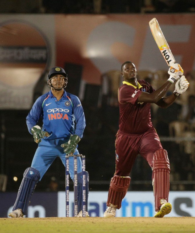 Jason Holder 54 not out India West Indies 4th ODI Mumbai cricket