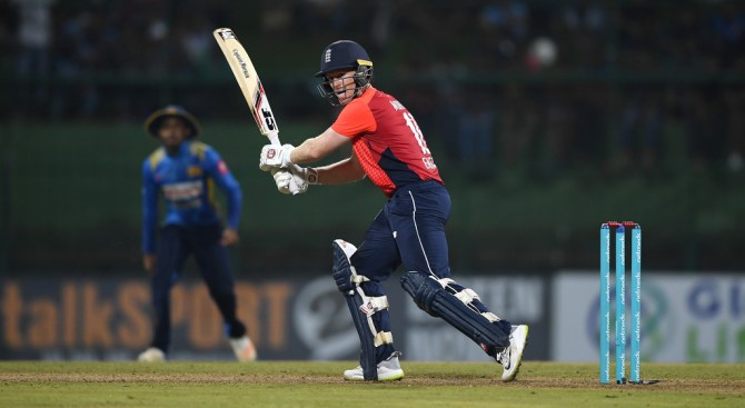 Eoin Morgan 58 not out Sri Lanka England 3rd ODI Pallekele cricket
