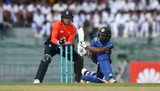 Niroshan Dickwella 95 Sri Lanka England 5th ODI Colombo cricket