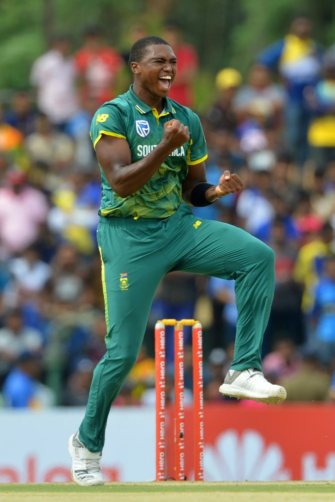 Lungi Ngidi out of action at least three months knee injury South Africa cricket