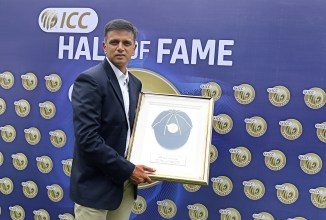 Rahul Dravid inducted into ICC Cricket Hall of Fame India cricket