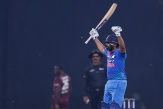 Rohit Sharma 111 not out India West Indies 2nd T20 Lucknow cricket