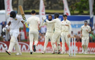 Moeen Ali four wickets Sri Lanka England 1st Test Day 4 Galle cricket