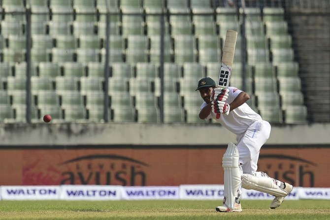 Mehidy Hasan Miraz 68 not out Bangladesh Zimbabwe 2nd Test Day 2 Dhaka cricket