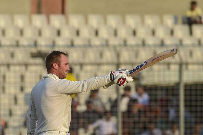 Brendan Taylor 110 Bangladesh Zimbabwe 2nd Test Day 3 Dhaka cricket