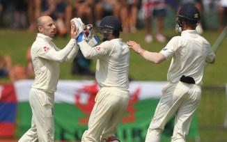 Jack Leach four wickets Sri Lanka England 2nd Test Day 4 Kandy cricket