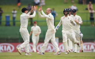 Jack Leach five wickets Sri Lanka England 2nd Test Day 5 Kandy cricket