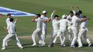Ajaz Patel five wickets Pakistan New Zealand 1st Test Day 4 Abu Dhabi cricket