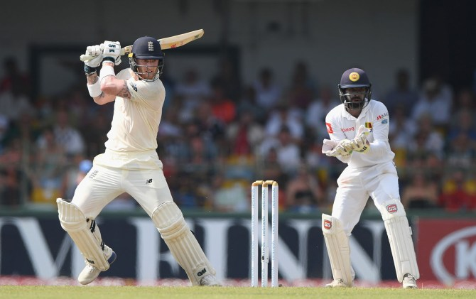 Ben Stokes 57 Sri Lanka England 3rd Test Day 1 Colombo cricket
