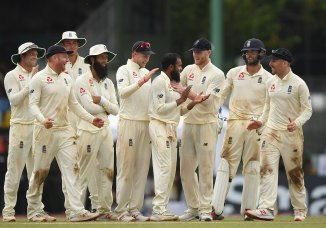 Adil Rashid five wickets Sri Lanka England 3rd Test Day 2 Colombo cricket