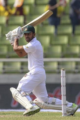 Shadman Islam 76 Bangladesh West Indies 2nd Test Day 1 Dhaka cricket