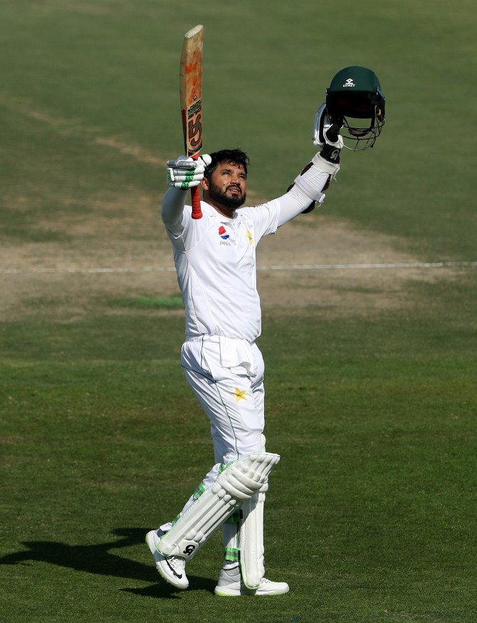 Azhar Ali 134 Pakistan New Zealand 3rd Test Day 3 Abu Dhabi cricket