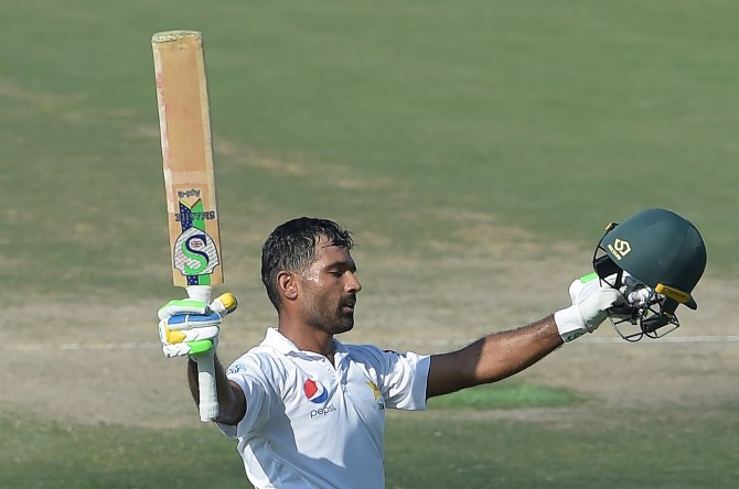 Asad Shafiq 104 Pakistan New Zealand 3rd Test Day 3 Abu Dhabi cricket