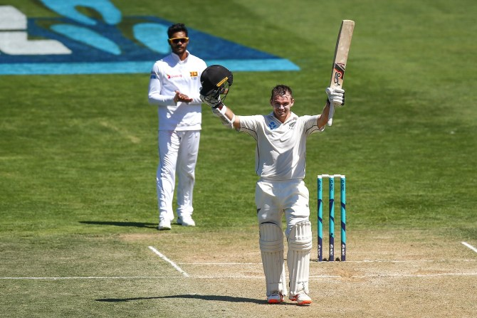 Tom Latham 264 not out New Zealand Sri Lanka 1st Test Day 3 Wellington cricket