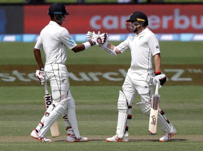Jeet Raval Tom Latham 74 New Zealand Sri Lanka Boxing Day Test 2nd Test Day 2 Christchurch cricket