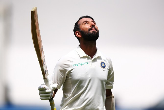 Cheteshwar Pujara 106 Australia India Boxing Day Test 3rd Test Day 2 Melbourne cricket