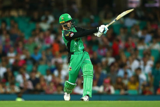 Peter Handscomb 70 Melbourne Stars Sydney Sixers Big Bash League BBL 10th Match cricket