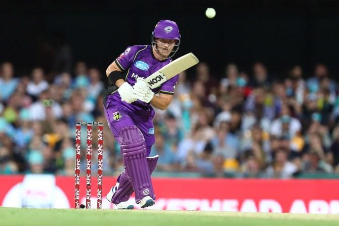 D'Arcy Short 67 Hobart Hurricanes Brisbane Heat Big Bash League BBL 5th Match cricket