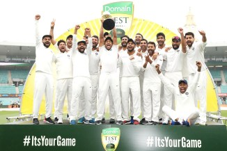 India win 2-1 Australia first-ever series win in Australia 4th Test Day 5 Sydney cricket