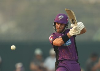 D'Arcy Short 68 not out Hobart Hurricanes Brisbane Heat Big Bash League BBL 43rd Match cricket