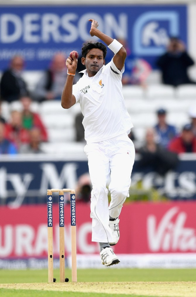 Dushmantha Chameera miss 2nd Test Australia Canberra ankle injury Sri Lanka cricket