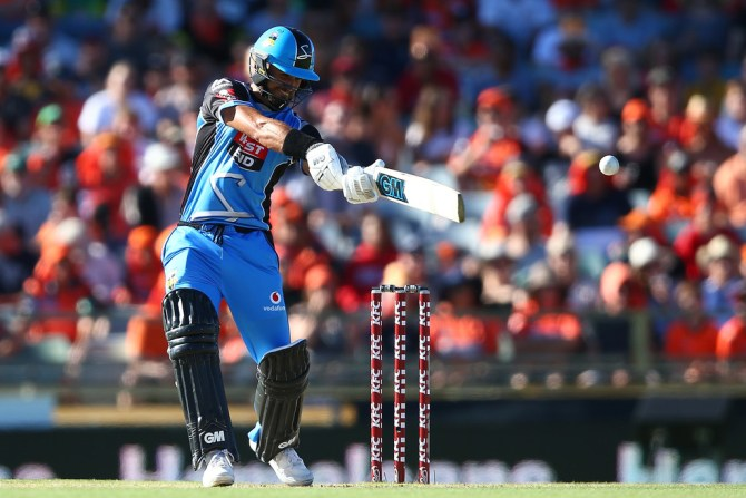Jake Weatherald 71 Adelaide Strikers Melbourne Renegades Big Bash League BBL 18th Match cricket
