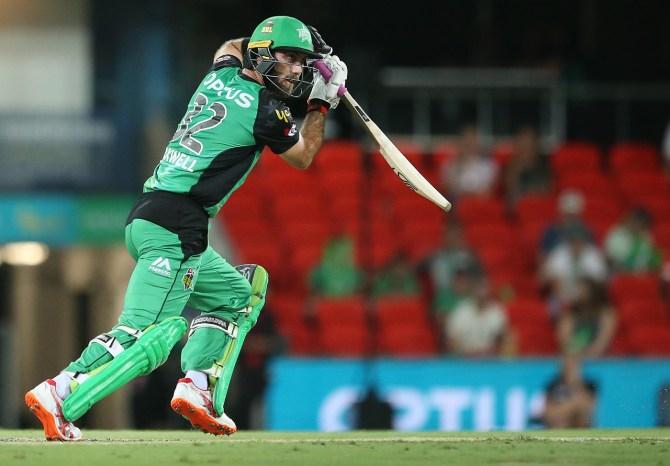 Glenn Maxwell 82 Melbourne Stars Sydney Sixers Big Bash League BBL 56th Match cricket