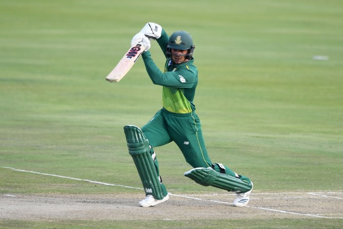 Quinton de Kock groin injury Faf du Plessis rested miss remainder of T20 series against Pakistan South Africa cricket