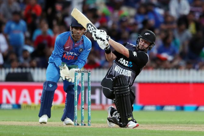 Colin Munro 72 New Zealand India 3rd T20 Hamilton cricket
