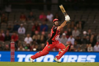 Dan Christian 31 not out Melbourne Renegades Sydney Sixers Big Bash League BBL 2nd semi-final cricket