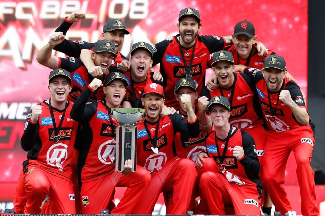 Melbourne Renegades beat Melbourne Stars crowned Big Bash League BBL champions cricket