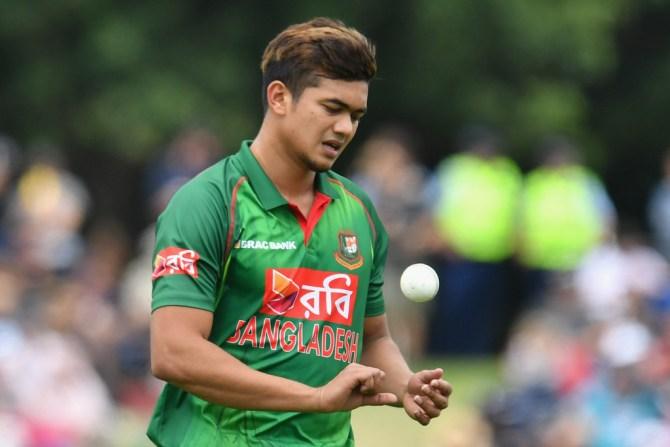 Taskin Ahmed miss ODI series against New Zealand left ankle injury Bangladesh cricket