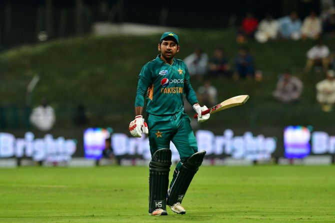 Sarfraz Ahmed not concerned about Pakistan losing first two ODIs against Australia Pakistan cricket