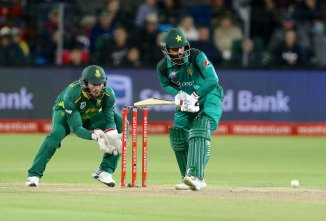 Mohammad Hafeez could miss World Cup after undergoing a second operation on his fractured right thumb Pakistan cricket