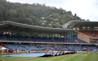 West Indies England 3rd ODI Greneda washed out persistent rain cricket