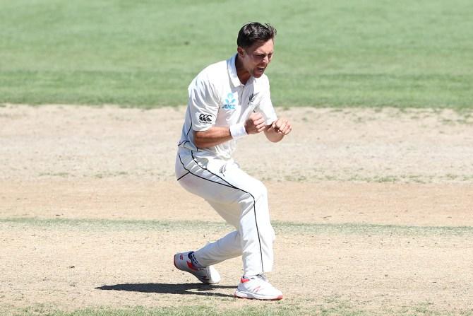 Trent Boult five wickets New Zealand Bangladesh 1st Test Day 4 Hamilton cricket