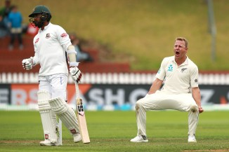 Neil Wagner five wickets New Zealand Bangladesh 2nd Test Day 5 Wellington cricket
