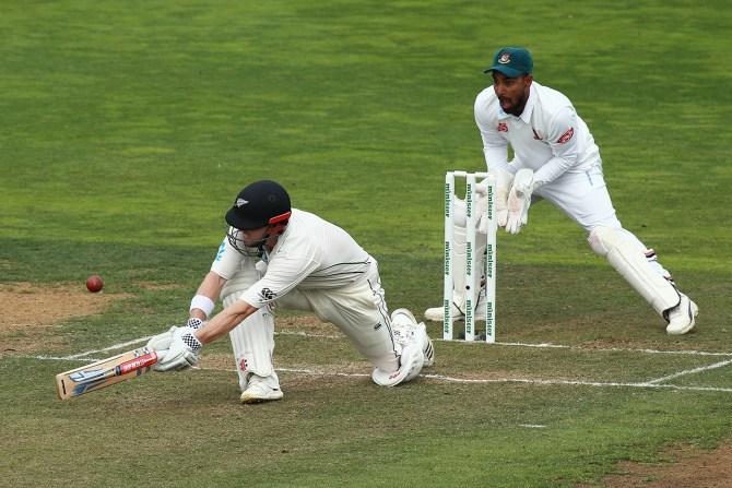 Henry Nicholls 107 New Zealand Bangladesh 2nd Test Day 4 Wellington cricket