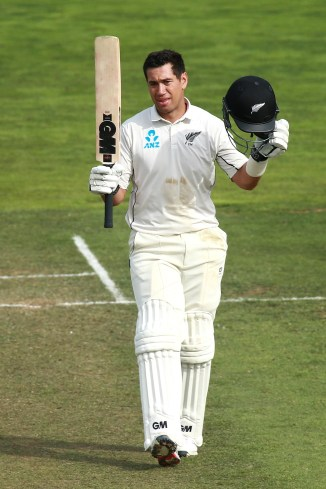 Ross Taylor 200 New Zealand Bangladesh 2nd Test Day 4 Wellington cricket