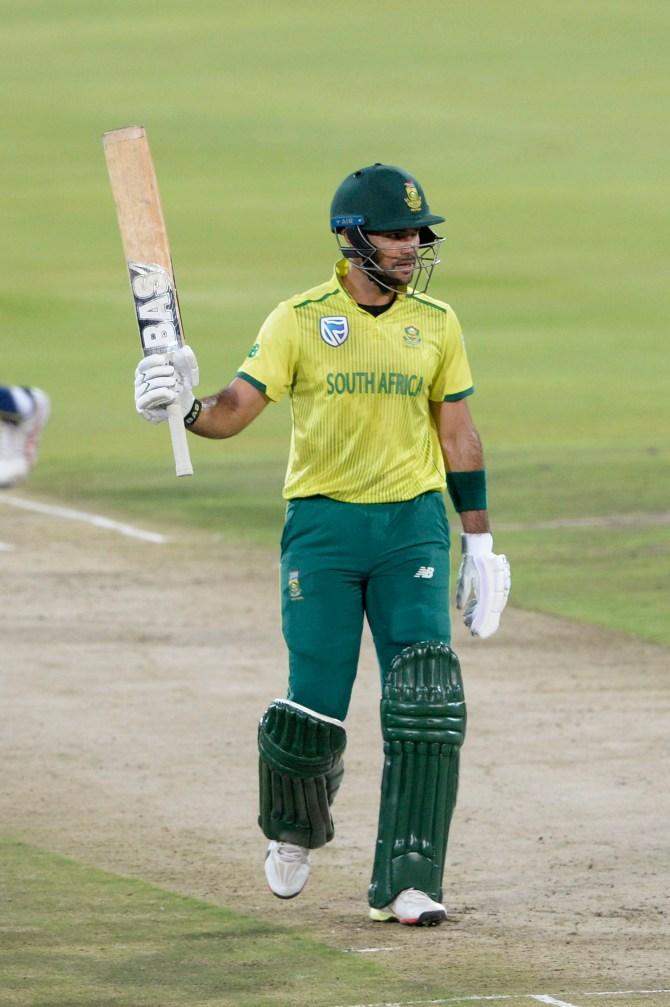 Reeza Hendricks 65 South Africa Sri Lanka 2nd T20 Centurion cricket