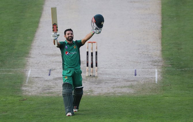 Mohammad Rizwan 115 Pakistan Australia 2nd ODI Sharjah cricket