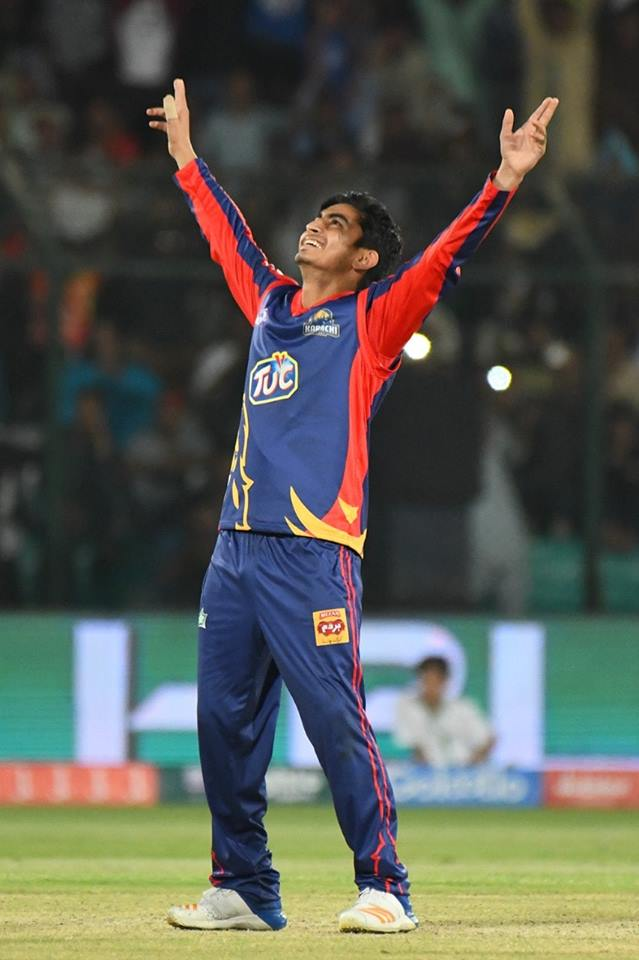 Umer Khan believes he has what it takes to play international cricket Pakistan Super League PSL Karachi Kings Pakistan cricket