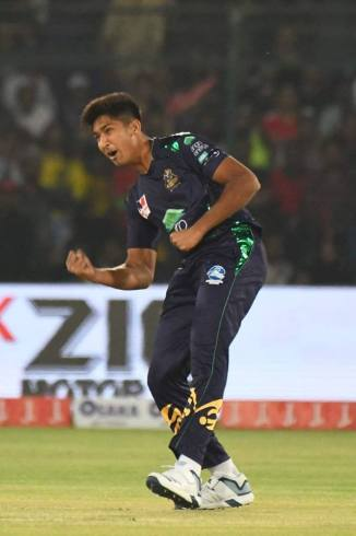 Mohammad Hasnain eager to be part of Pakistan's World Cup squad Pakistan Super League PSL Quetta Gladiators cricket