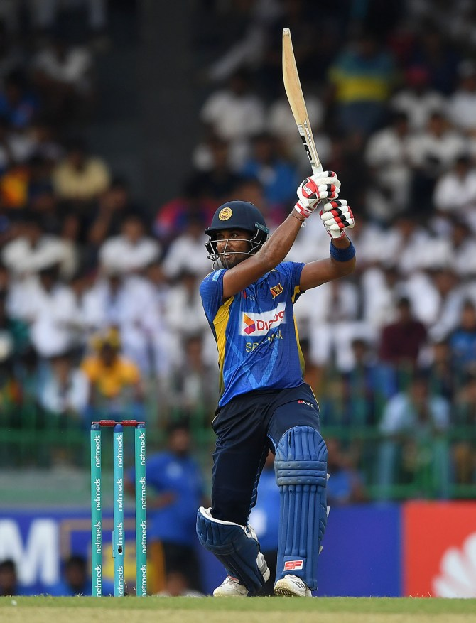 Dinesh Chandimal and Niroshan Dickwella left out of Sri Lanka's World Cup squad and Dimuth Karunaratne appointed as captain cricket