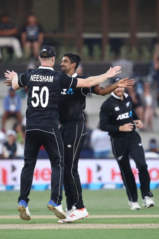 Ish Sodhi and Tom Blundell included in New Zealand's World Cup squad cricket