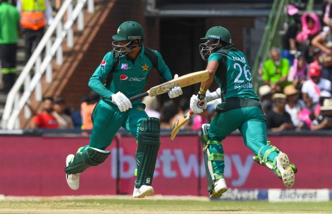 Inzamam-ul-Haq claims Fakhar Zaman, Imam-ul-Haq and Babar Azam are the most exciting, talented and entertaining top-three in the world Pakistan World Cup cricket